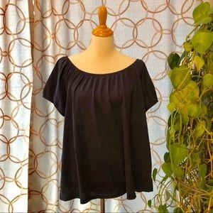 🔥 Old Navy Dark Blue Short Sleeve T-Shirt XL NWT